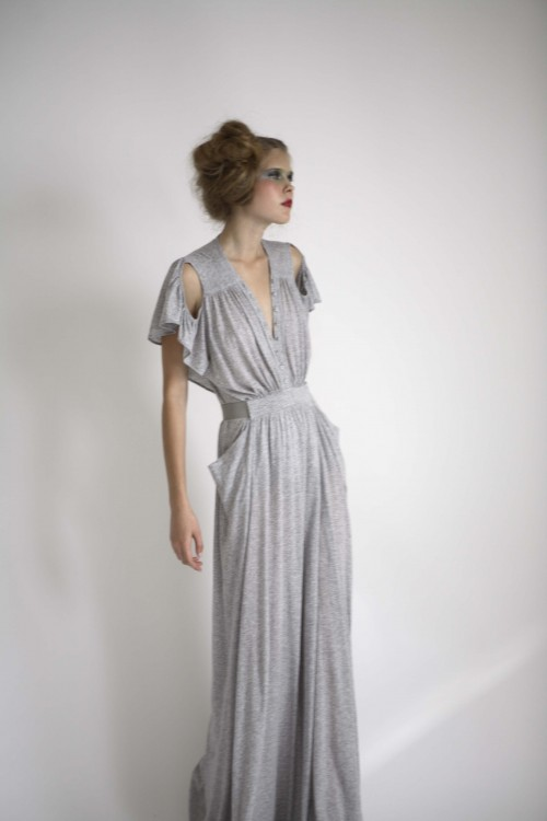Future Classics fashion SS08 collection Grey Marl Fine Jersey Tea Dress