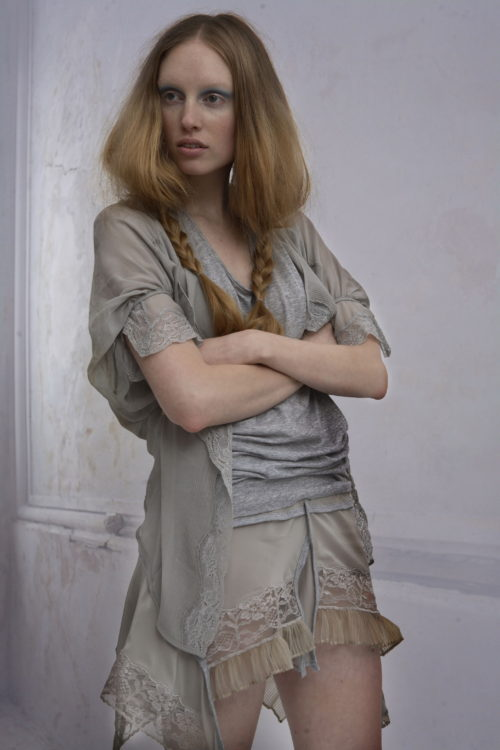 Future Classics fashion Collection AW07 Necessary Soft Focus Look 20