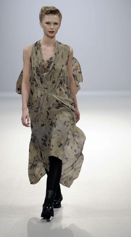 Future Classics fashion AW09 collection: Waste Not Want Not Look 11 Print