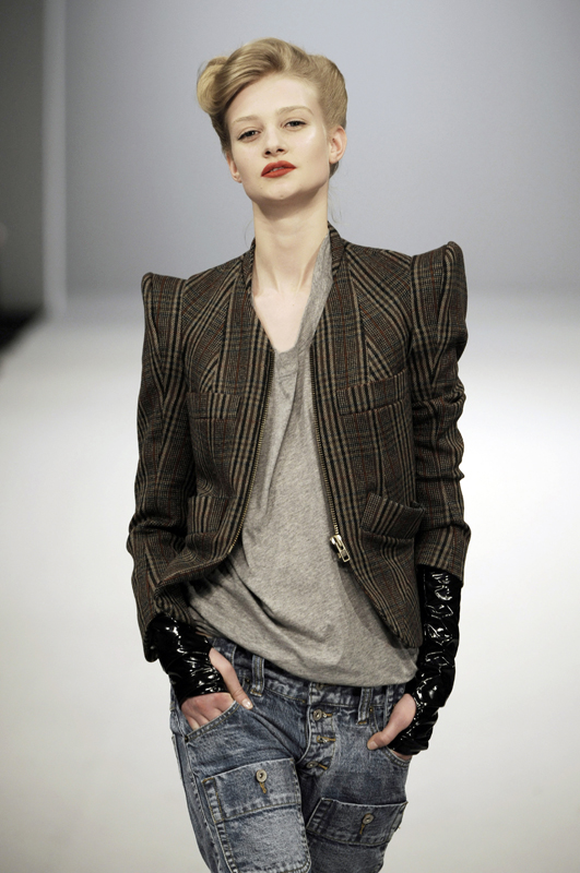 Future Classics fashion AW09 collection: Waste Not Want Not Look 2 Tweed
