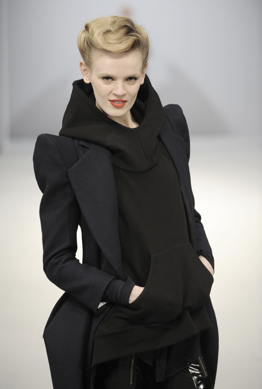 Future Classics fashion AW09 collection: Waste Not Want Not Look 25 Wool, Silk & Jersey