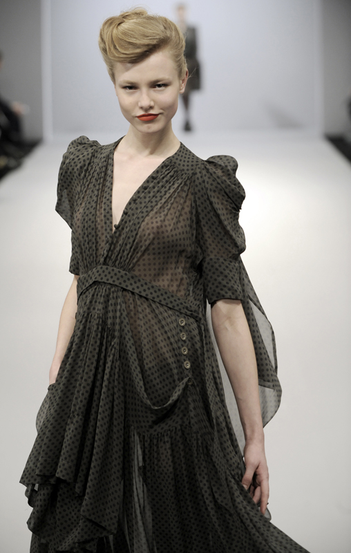 Future Classics fashion AW09 collection: Waste Not Want Not Look 4 Polka Dot