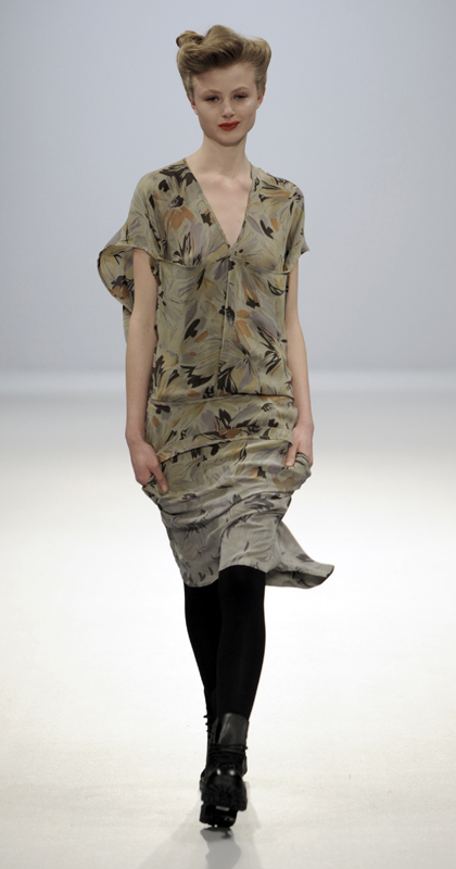 Future Classics fashion AW09 collection: Waste Not Want Not Look 9 Print
