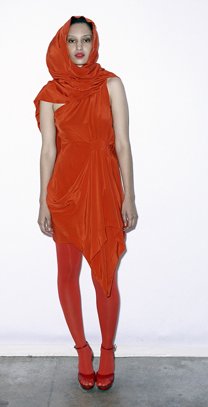 Future Classics fashion SS 11 collection: Sophisticated Jellybeans Look 10 Orange Dress Sets