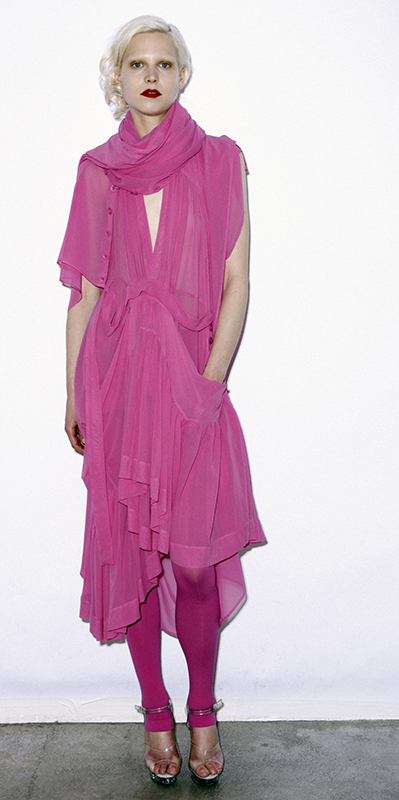 Future Classics fashion SS 11 collection: Sophisticated Jellybeans Look 15 Pink Dress Set