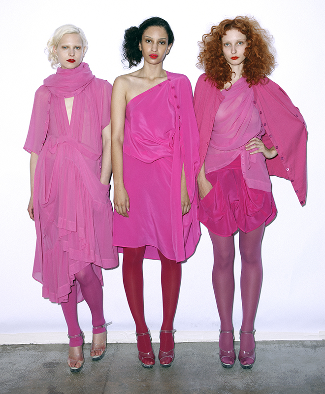 Future Classics fashion SS 11 collection: Sophisticated Jellybeans Look 17 Pink Dress Sets