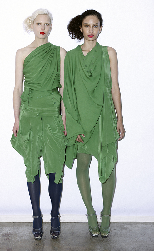 Future Classics fashion SS 11 collection: Sophisticated Jellybeans Look 30 Green Dress Sets