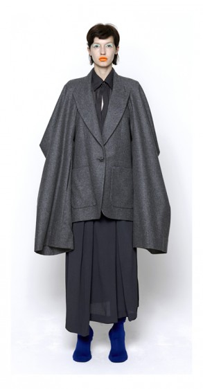 Future Classics AW14 Superclassic Cape Shrug & Open Back Jacket